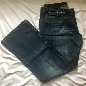 Mossimo Supply Co. Jeans - Vintage Mossimo Distressed Bootcut Jeans
